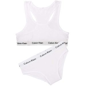 Calvin Klein Modern Bralette & Bikini Set (White)